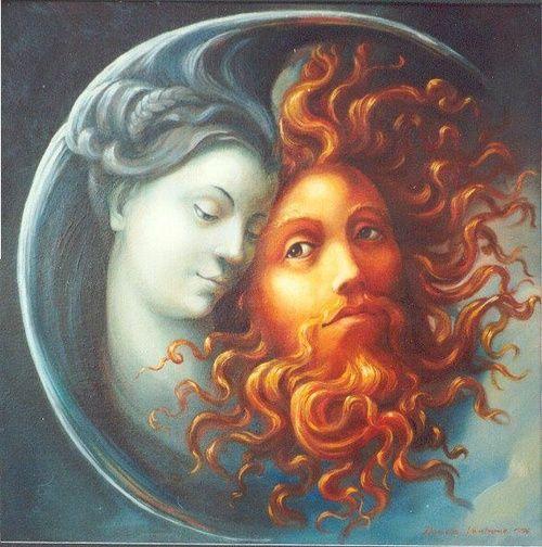 ηλιος, σεληνη, μαγεια, μυθοι, παγανισμος, wicca