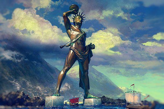 wicca, παγανισμος, αρχαια ελληνική θρησκεια, ηλιακή λατρεια, κολοσσος της ροδου, μυθοι, ηλιος