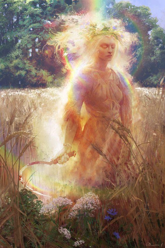 Η Κυρά του απομεσήμερου, παγανισμός, wicca, μύθοι, μαγεία, καλοκαίρι, καρδιακή προσβολή, λαικές δοξασίες.