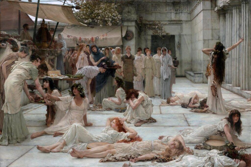Μαινάδες, παγανισμός, Διόνυσος, Βάκχες, Θίασος, Έκσταση, Wicca, Θυιάδες